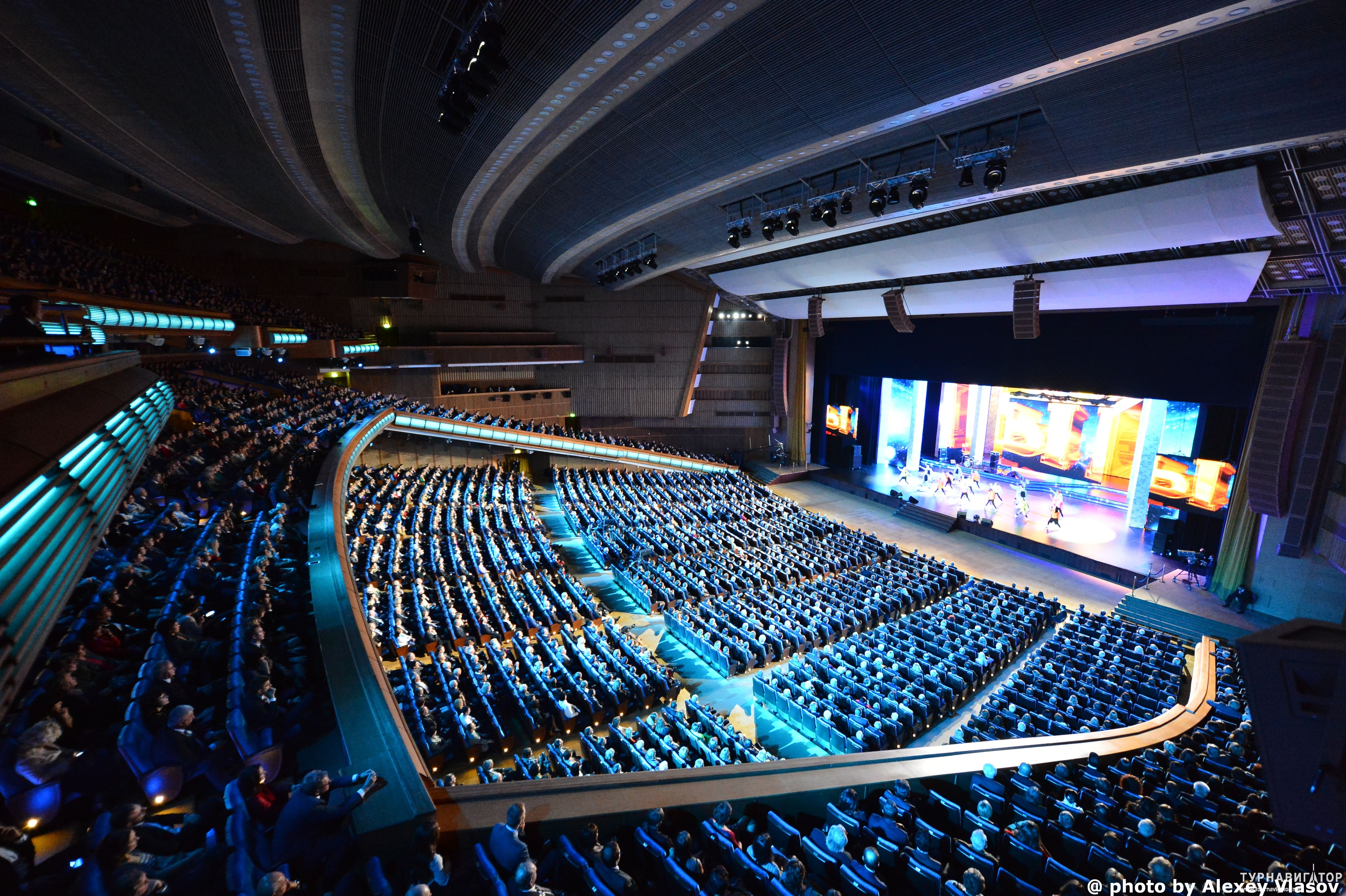 Дворец съездов схема зала фото