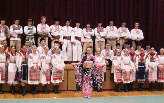 Lúčnica Slovakian National Folklore Ballet Troupe Bringing smiles to devastated Ishinomaki
