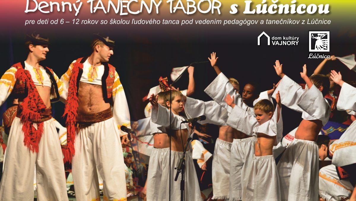 Denný tanečný tábor s Lúčnicou
