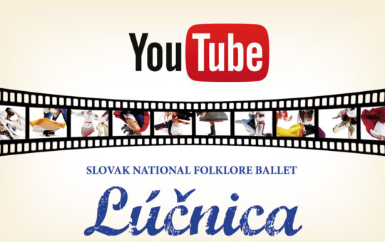 "Visit our new YouTube channel ""Lúčnica"""