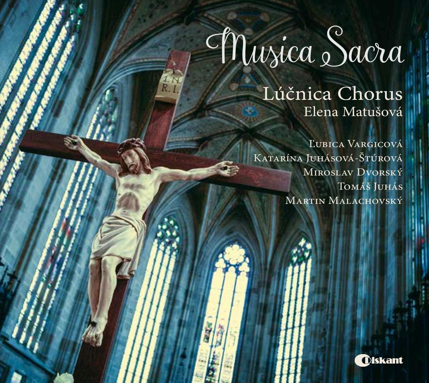 CD MUSICA SACRA (design Vladimír Yurkovic)