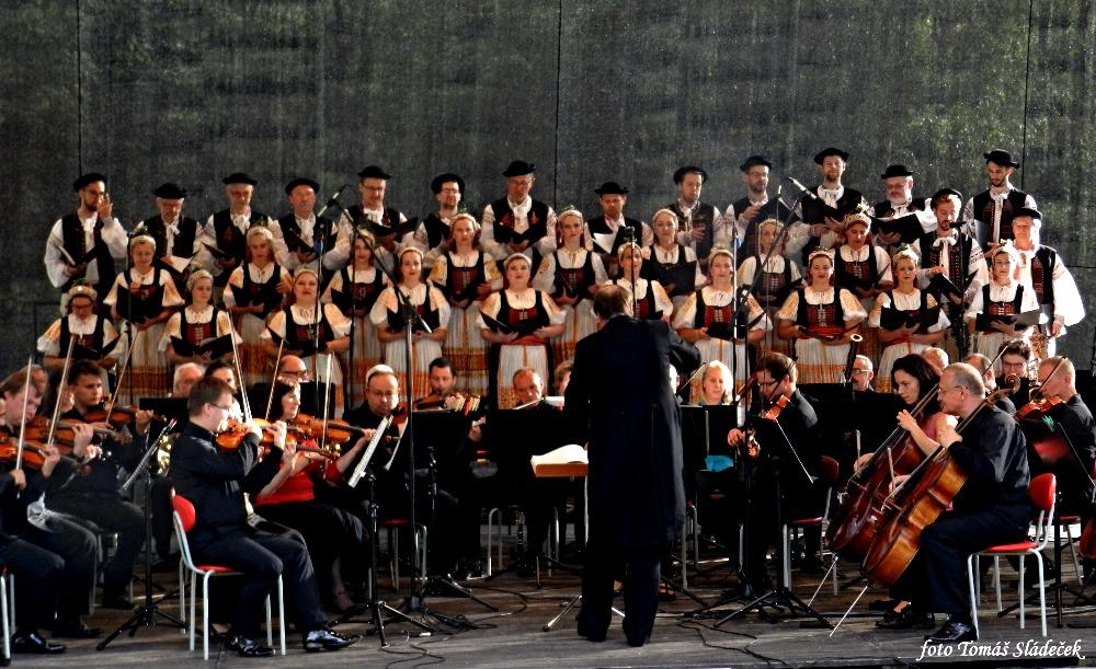 Záverečný koncert festivalu Janáčkovy Hukvaldy 2016; foto (c) Tomáš Sládeček