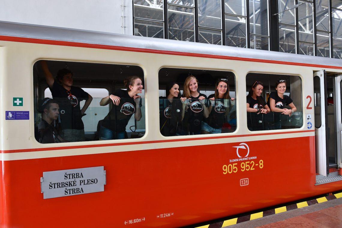 Lúčnica v Tatrách - Cesta vlakom do Tatier. Foto: Pavol Harum