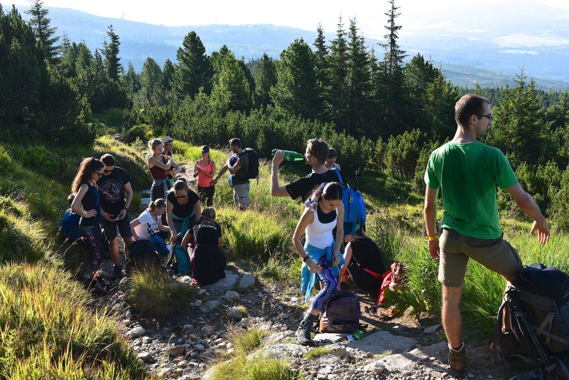 Lúčnica v Tatrách - Výstup na Kriváň. Foto: Pavol Harum
