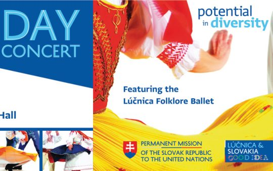 Lúčnica, the Legendary Slovak National Folklore Ballet to Perform at the UN for the First Time