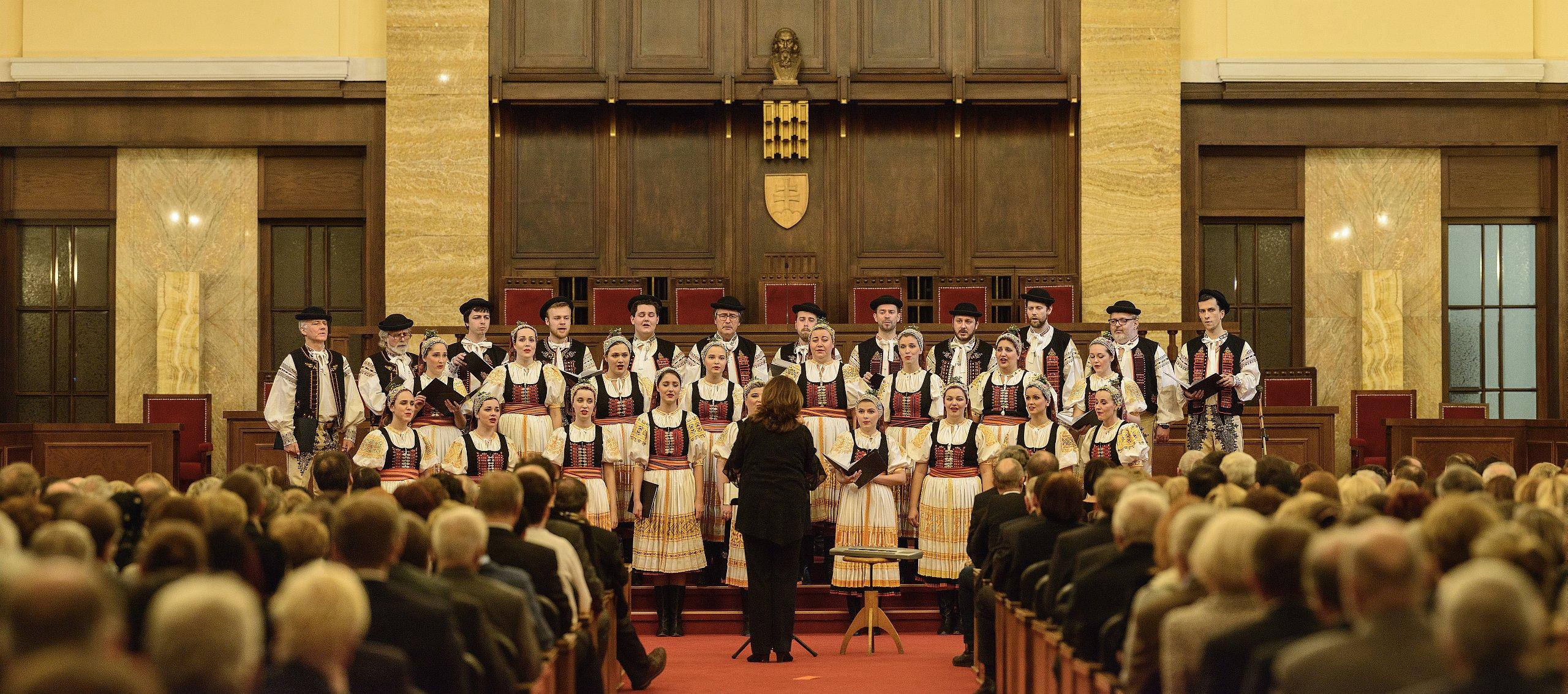 Vianočný koncert - Aula UK 20.12.2017, photo (c) Vlado Kuric