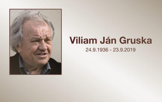 Doc. Ing. Viliam Ján Gruska