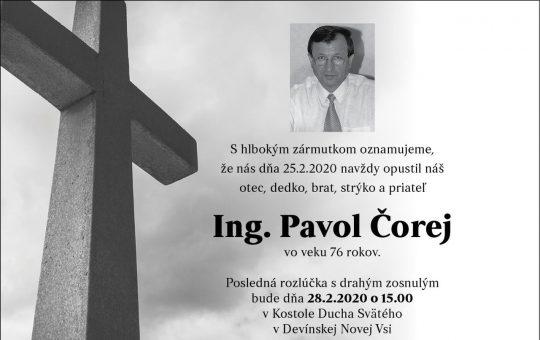Dlhoročný člen speváckeho zboru a riaditeľ súboru v rokoch 1989-2007. Lúčnicu si miloval a Lúčnica milovala Teba. Česť Tvojej pamiatke, Paľko!